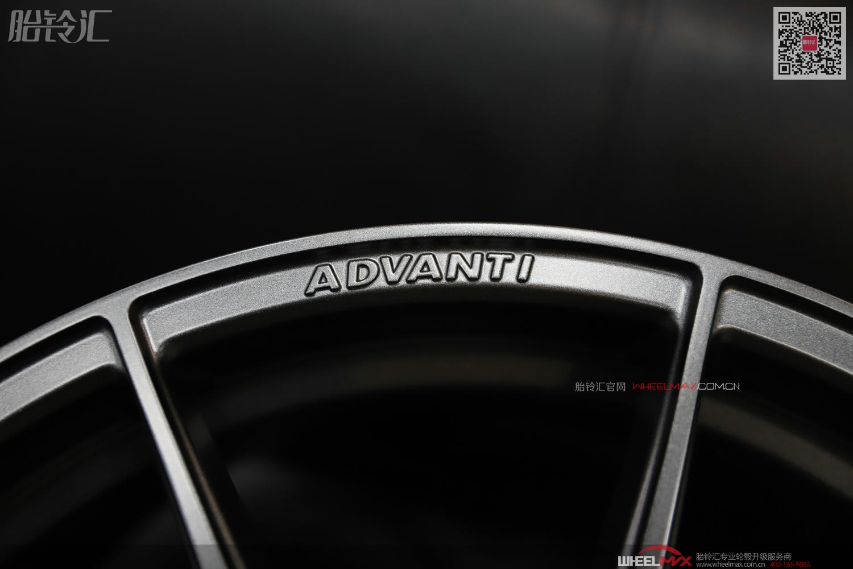 雅泛迪N980超轻量化MAT旋压可避大卡钳运动轮毂